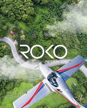 Design webových stránek pro Roko Airplanes