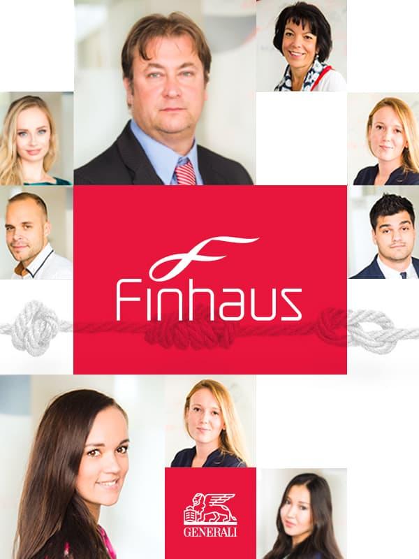 Finhaus (Generali) – a complex solution for their website