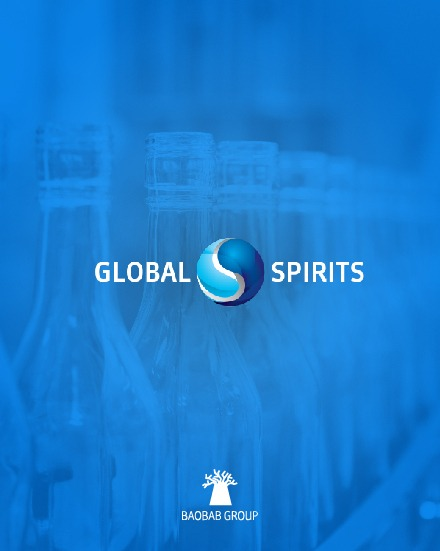 Global Spirits US - Web pro 3. největšího výrobce alkoholu na světě